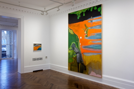 PETER DOIG, New Paintings, London, 2012, Installation Image 3
