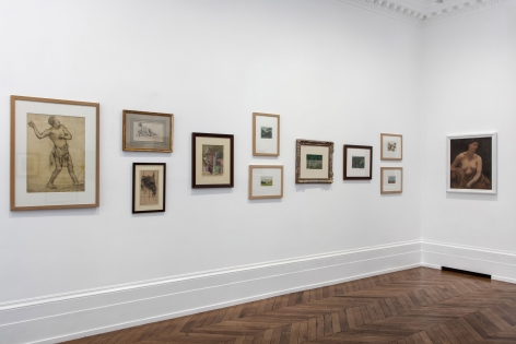 PIERRE PUVIS DE CHAVANNES, Works on Paper and Paintings, London, 2018, Installation Image 3