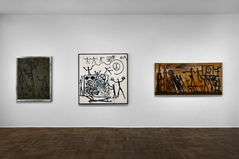 A.R. PENCK Early Works 9 June through 2 September 2016 UPPER EAST SIDE, NEW YORK, Installation View 7