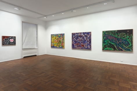A.R. PENCK New Paintings 10 January through 9 March 2013 UPPER EAST SIDE, NEW YORK, Installation View 5