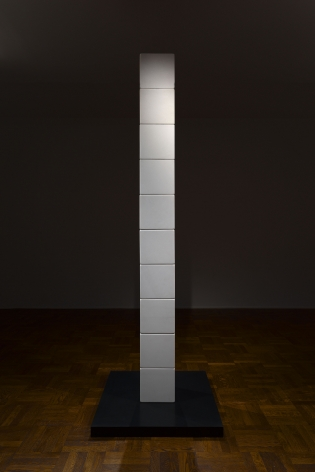 JAMES LEE BYARS, The Figure of Death and The Moon Column, New York, 2015, Installation Image 3