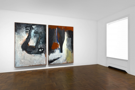 Georg Baselitz, 1977-1992, New York, 2017-2018, Installation Image 4