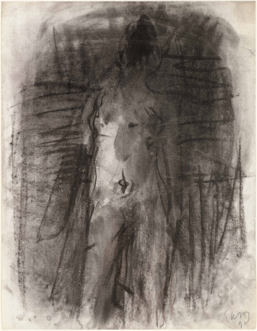 "Eugène Leroy, ""Untitled"", 1997"