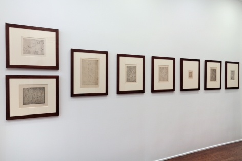 WILHELM LEHMBRUCK, Sculptures and Etchings, New York, 2012, Installation Image 12