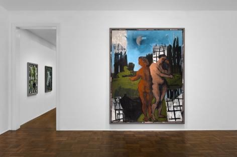 Markus Lüpertz, New Paintings, New York, 2017, Installation Image 1