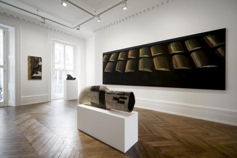 Markus Lüpertz, Players Ball, London, 2014, Installation Image 1