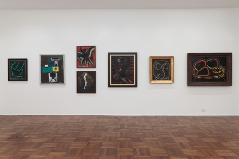 Francis Picabia, Late Paintings, New York, 2011-2012, Installation Image 10
