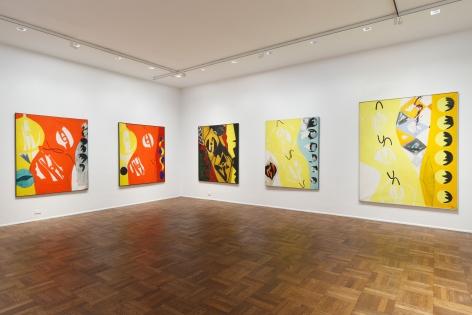 ERNST WILHELM NAY, Paintings, New York, 2012, Installation Image 2