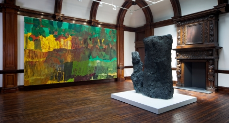 PER KIRKEBY Recent Paintings 5 June through 27 July 2013 MAYFAIR, LONDON, Installation View 10