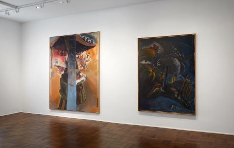 Jörg Immendorff, Café Deutschland, New York, 2014, Installation Image 3