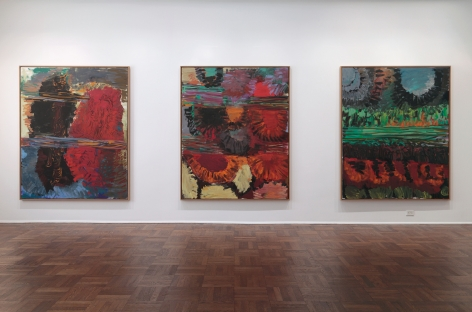Per Kirkeby, New Paintings, New York, 2011, Installation Image 9