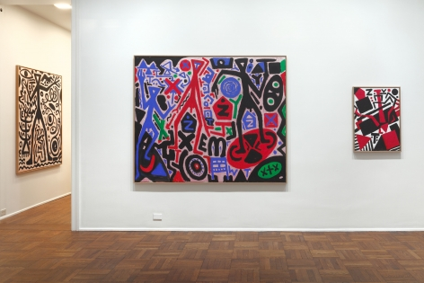A.R. PENCK New Paintings 10 January through 9 March 2013 UPPER EAST SIDE, NEW YORK, Installation View 8