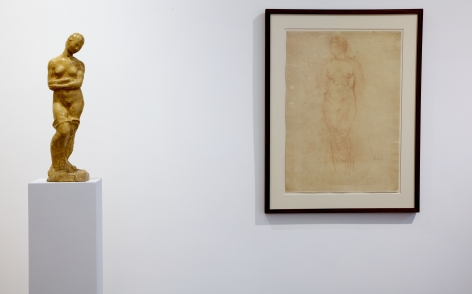 WILHELM LEHMBRUCK Sculpture and Works on Paper 21 March through 25 May 2013 MAYFAIR, LONDON, Installation View 15