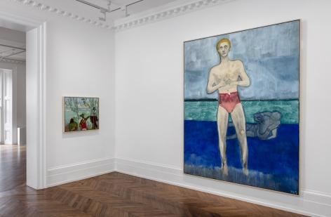 PETER DOIG Paintings 6 September through 16 November 2019 MAYFAIR, LONDON, Installation View 4