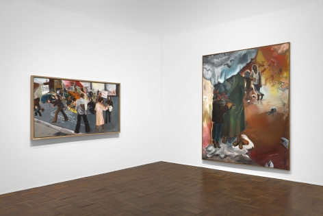 JÖRG IMMENDORFF Questions from a Painter Who Reads 21 February through 13 April 2019 UPPER EAST SIDE, NEW YORK, Installation View 2