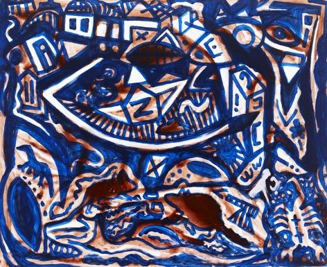 """""""Landschaft - abseits (Landscape - remote)"""", 2011"""