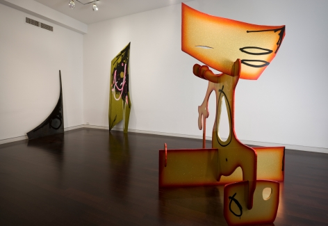 Aaron Curry, The Colour Out of Space, 2009, Michael Werner New York Image 9