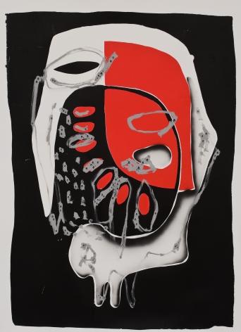 """""""Black Dimension (Red Mask)"""", 2009"""