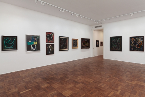 Francis Picabia, Late Paintings, New York, 2011-2012, Installation Image 9
