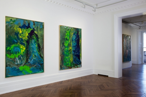 PER KIRKEBY Recent Paintings 5 June through 27 July 2013 MAYFAIR, LONDON, Installation View 8