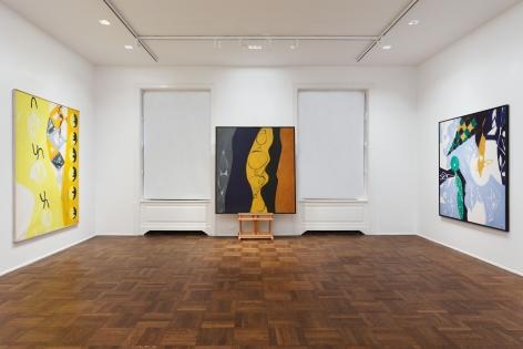 ERNST WILHELM NAY, Paintings, New York, 2012, Installation Image 5