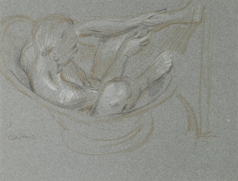 """""""Nude Study (J.F.)"""", ca. 1940-1941"""