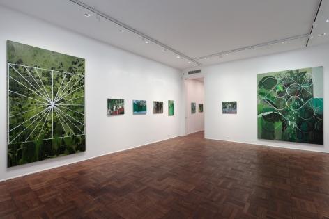 Hurvin Anderson, Subtitles, New York, 2011, Installation Image 6