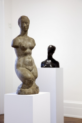 WILHELM LEHMBRUCK Sculpture and Works on Paper 21 March through 25 May 2013 MAYFAIR, LONDON, Installation View 4