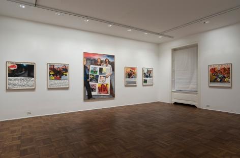 JÖRG IMMENDORFF, Maoist Paintings - The Early Seventies, 2009, Michael Werner New York Image 2