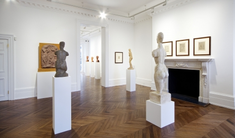 WILHELM LEHMBRUCK Sculpture and Works on Paper 21 March through 25 May 2013 MAYFAIR, LONDON, Installation View 13
