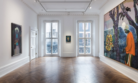 Peter Doig, London, 2017-2018, Installation Image 5