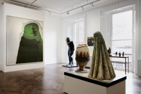 Markus Lüpertz, Players Ball, London, 2014, Installation Image 6