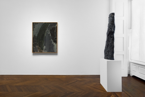 PER KIRKEBY, Paintings and Bronzes from the 1980s, New York, 2018, Installation Image 11