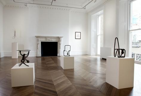 ENRICO DAVID New Works 17 September through 16 November 2013 MAYFAIR, LONDON, Installation View 6