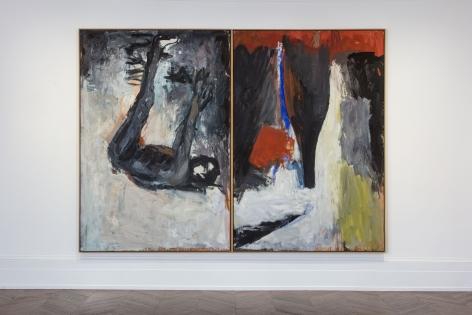 Georg Baselitz, 1977 - 1992, London, 2017, Installation Image 3