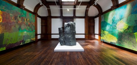 PER KIRKEBY Recent Paintings 5 June through 27 July 2013 MAYFAIR, LONDON, Installation View 9