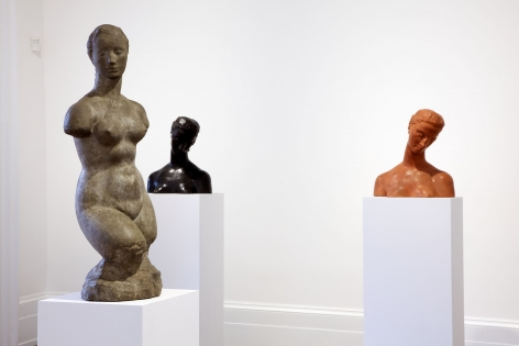 WILHELM LEHMBRUCK Sculpture and Works on Paper 21 March through 25 May 2013 MAYFAIR, LONDON, Installation View 1
