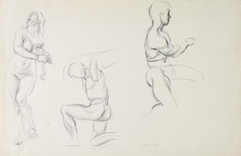 """""""Untitled Nude Studies"""", ca. 1930-1939"""