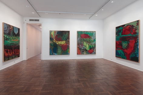 Per Kirkeby, New Paintings, New York, 2011, Installation Image 2