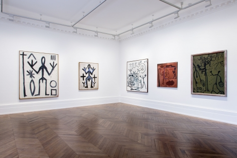 A.R. PENCK, Early Works, London, 2015, Installation Image 7