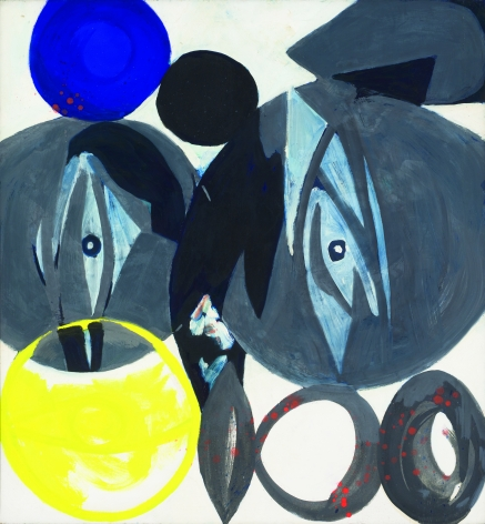 """""""Spindles in Gray"""", 1965"""