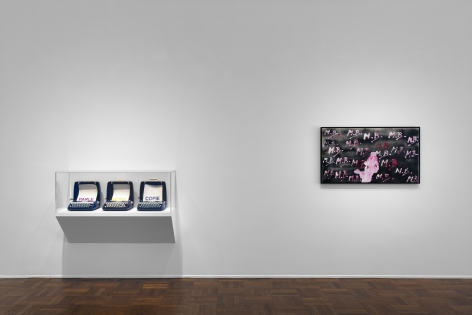 MARCEL BROODTHAERS Écriture 28 January through 26 March 2016 UPPER EAST SIDE, NEW YORK, Installation View 3