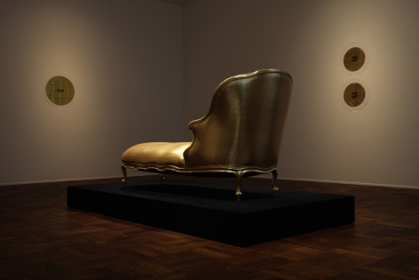 James Lee Byars, Golddust is My Ex-Libris, 2009, Michael Werner New York Image 1