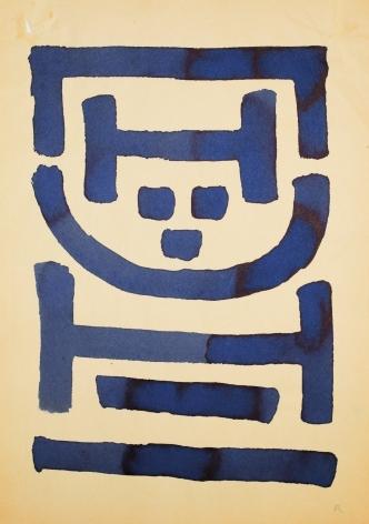 "A.R. Penck, ""Untitled (Standart)"", ca. 1967-1968"