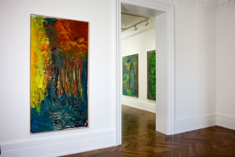PER KIRKEBY Recent Paintings 5 June through 27 July 2013 MAYFAIR, LONDON, Installation View 4