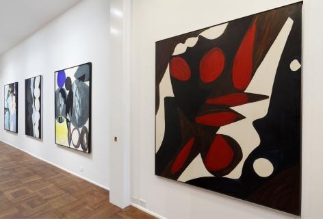ERNST WILHELM NAY, Paintings, New York, 2012, Installation Image 9