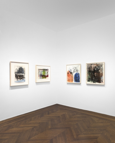 PER KIRKEBY Works on Paper, Works in Brick 20 November 2019 through 25 January 2020 UPPER EAST SIDE, NEW YORK, Installation View 18