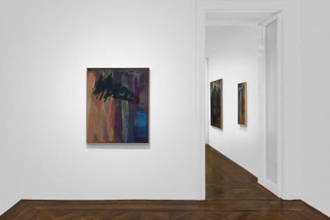 PER KIRKEBY, Paintings and Bronzes from the 1980s, New York, 2018, Installation Image 9