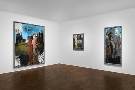 Markus Lüpertz, New Paintings, New York, 2017, Installation Image 3