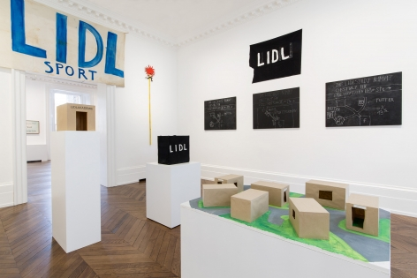 JÖRG IMMENDORFF LIDL Works and Performances from the 60s and Late Paintings after Hogarth 12 May through 2 July 2016 MAYFAIR, LONDON, Installation View 6